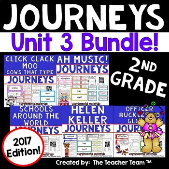 Journeys 2017 2nd Grade Unit 3 Supplemental Materials