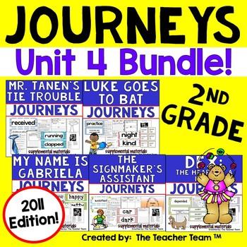 Journeys 2nd Grade Unit 4 Supplemental Materials 2011