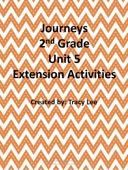 Journeys 2nd Grade Unit 5 Extension Activities