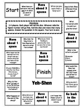 Journeys 2nd Grade Unit 6 Comprehension Game Boards