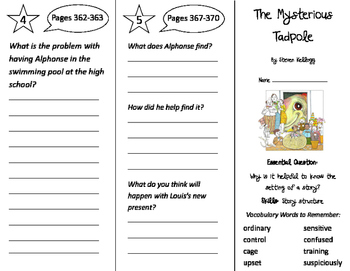 Journeys 2nd Grade Unit 6 Trifolds Bundle (2011)