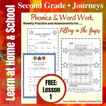 """Journeys/2nd Grade - """"Henry and Mudge"""" - Precise Word Work"""