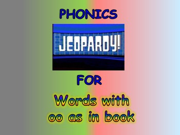 "Journeys 2nd Lesson 27 Jeopardy Phonics PPT for ""The Dog T"