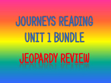 Journeys 2nd Unit 1 Bundle Jeopardy Review