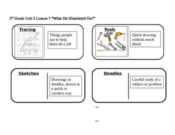 "Journeys 3rd Grade Reading Series Vocabulary Dominoes ""Wha"