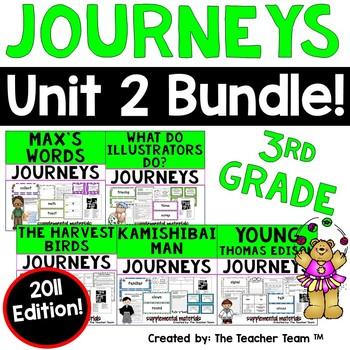 Journeys 3rd Grade Unit 2 Supplemental Materials 2011