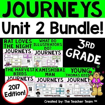 Journeys 2017 3rd Grade Unit 2 Supplemental Materials