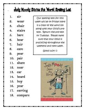 Journeys 3rd Grade Unit 4 Spelling
