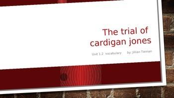 Journeys 3rd Grade Vocabulary PowerPoint : Cardigan Jones