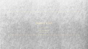 Journeys 3rd Grade Vocabulary PowerPoint : Destiny's Gift