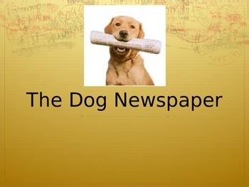 Journeys 4-18 Dog Newspaper