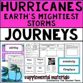 Hurricanes Earth's Mightiest Storms Journeys 4th Grade Sup