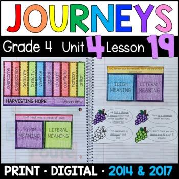 Journeys 4th Grade Lesson 19: Harvesting Hope (Supplementa
