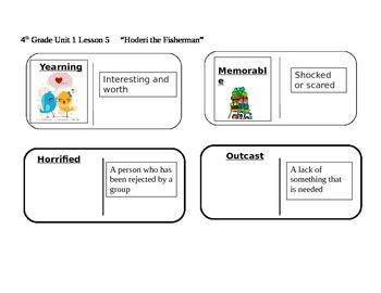 "Journeys 4th Grade Reading Series Vocabulary Dominoes ""Sto"