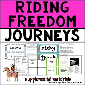 Riding Freedom Journeys 4th Grade Supplemental Materials
