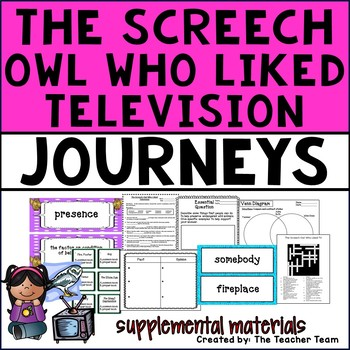 The Screech Owl Who Liked Television Journeys 4th Grade Su