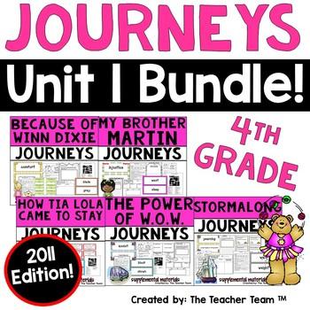 Journeys 4th Grade Unit 1 Supplemental Materials 2011