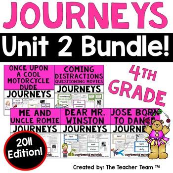 Journeys 4th Grade Unit 2 Supplemental Materials 2011