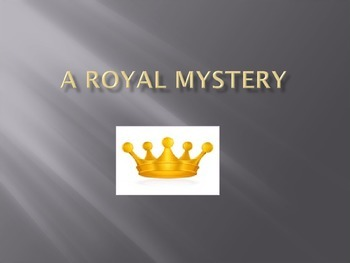 Journeys 5-2 Royal Mystery PowerPoint