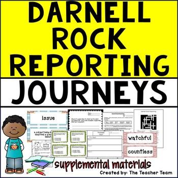 Darnell Rock Reporting Journeys 5th Grade Supplemental Materials