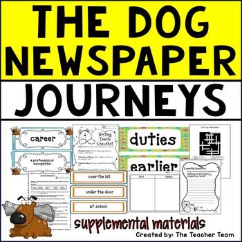 The Dog Newspaper Journeys 5th Grade Supplemental Materials