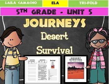 Journeys 5th Grade Trifold (Desert Survival)