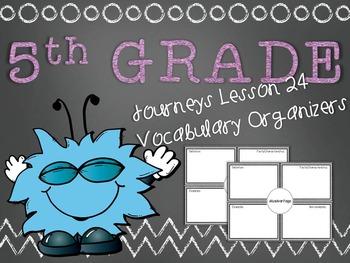 Journeys 5th Grade Unit 5 Lesson 24 Vocabulary Frayer Grap
