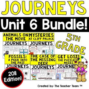 Journeys 5th Grade Unit 6 Supplemental Materials 2011