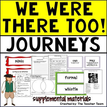 We Were There Too! Journeys 5th Grade Supplemental Materials