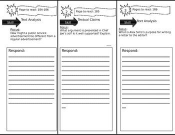 Journeys 6th Grade Common Core~ Persuading The Public Trif