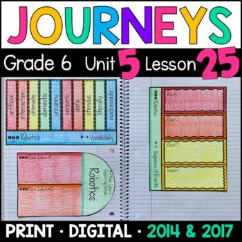 Journeys 6th Grade Lesson 25: Robotics (Supplemental & Int