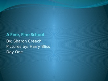 Journey's A Fine Fine School Day 1