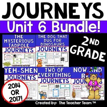 Journeys 2nd Grade Unit 6 Supplemental Materials 2014