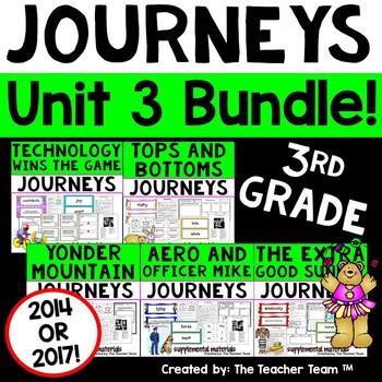 Journeys 3rd Grade Unit 3 Supplemental Materials 2014