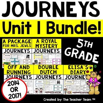 Journeys 5th Grade Unit 1 Supplemental Materials CC 2014