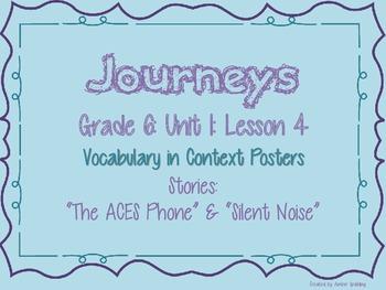 Journeys Common Core: Grade 6: Unit 1: Lesson 4 Vocabulary