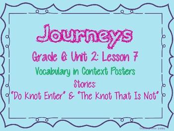 Journeys Common Core: Grade 6: Unit 2: Lesson 7 Vocabulary