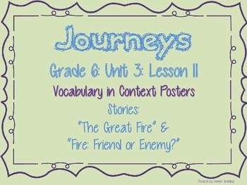 Journeys Common Core: Grade 6: Unit 3: Lesson 11 Vocabular