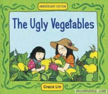 Journey's Common Core: The Ugly Vegetable Flipchart