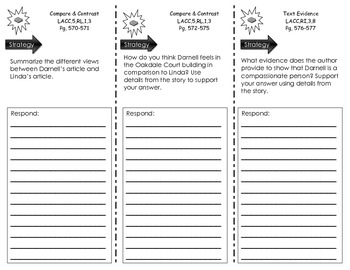 Journeys Common Core Trifold for Darnell Rock Reporting by