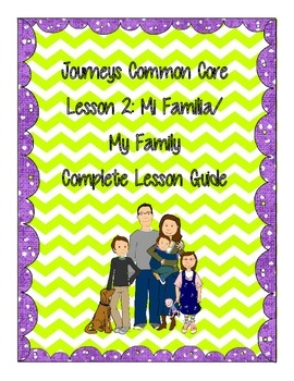 Journey's Common Core Unit 1: Story 2 My Family Story Acti