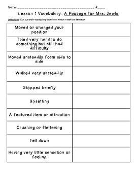 Journeys Common Core: Vocabulary Sorts for Unit 1 {Grade 5}