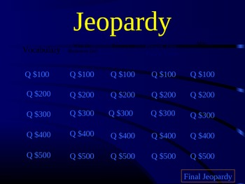 Journeys Curriculum: Jeopardy Lesson 7 What Do Illustrators Do?