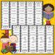 Journeys FIRST Grade Sight Word Bracelets/Bookmarks:  Unit FOUR