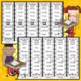 Journeys FIRST Grade Unit THREE Sight Word Bracelets/Bookmarks