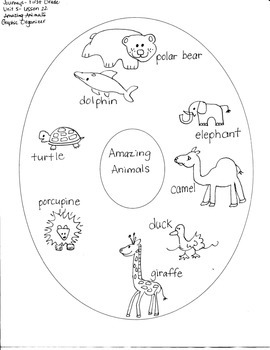 Journeys First Grade: Amazing Animals/Unit 5-Lesson 22/Gra