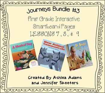 Journeys (2011-2012 edition) First Grade BUNDLE #3 (Smartb