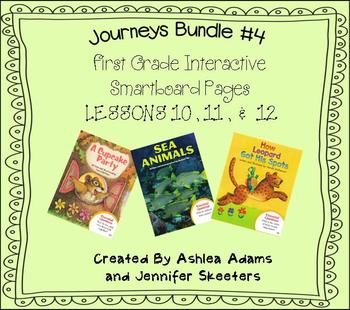 Journeys (2011-2012 edition) First Grade BUNDLE #4 (Smartb