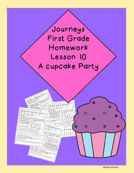 Journeys First Grade Common Core Homework Lesson 10 A Cupc