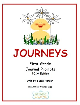 Journeys First Grade Journal Prompts 2014 Edition